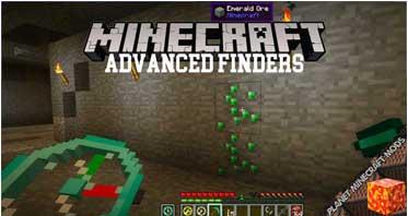 Advanced Finders Mod 1.16.4/1.12.2/1.7.10