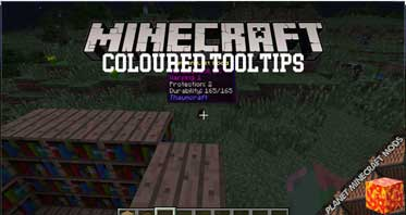 Coloured Tooltips Mod 1.16.4/1.15.2/1.12.2