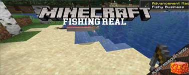 Fishing Real Mod 1.16.4/1.15.2/1.14.4