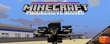 Progressive Bosses Mod 1.16.4/1.15.2/1.12.2