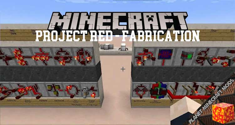 Project Red - Fabrication Mod 1.12.2/1.10.2/1.7.10