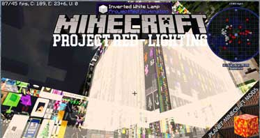 Project Red – Lighting Mod 1.12.2/1.10.2/1.7.10