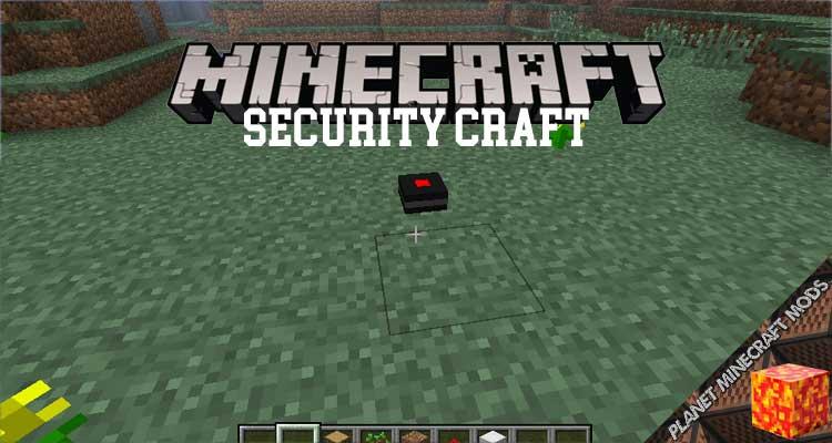 Security Craft Mod 1.17.1/1.12.2/1.7.10