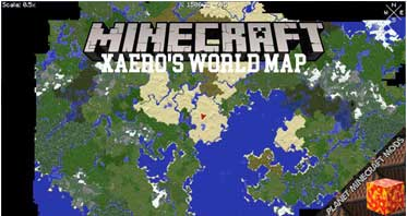 Xaero's World Map Mod 1.16.5/1.12.2/1.10.2