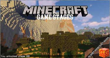 Game Stages Mod 1.16.4/1.15.2/1.12.2