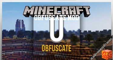 Obfuscate Mod 1.16.4/1.15.2/1.12.2