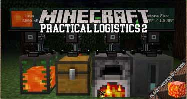 Practical Logistics 2 Mod 1.12.2/1.10.2/1.9.4