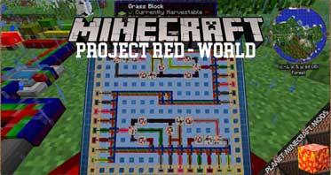 Project Red – World Mod 1.12.2/1.10.2/1.7.10