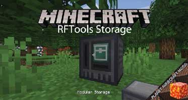 RFTools Storage Mod 1.16.5/1.15.2/1.14.4