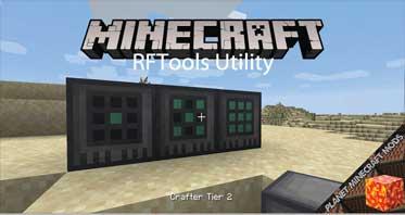 RFTools Utility Mod 1.16.5/1.15.2/1.14.4