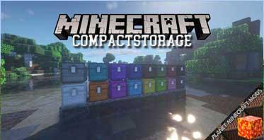 CompactStorage Mod 1.16.5/1.12.2/1.7.10