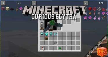 Curious Elytra Mod 1.16.5/1.15.2/1.14.4