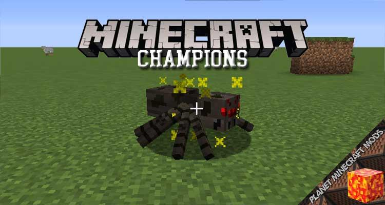 Champions Mod 1.16.5/1.15.2/1.12.2