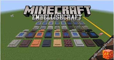 EmbellishCraft Mod 1.16.5/1.15.2/1.13.2