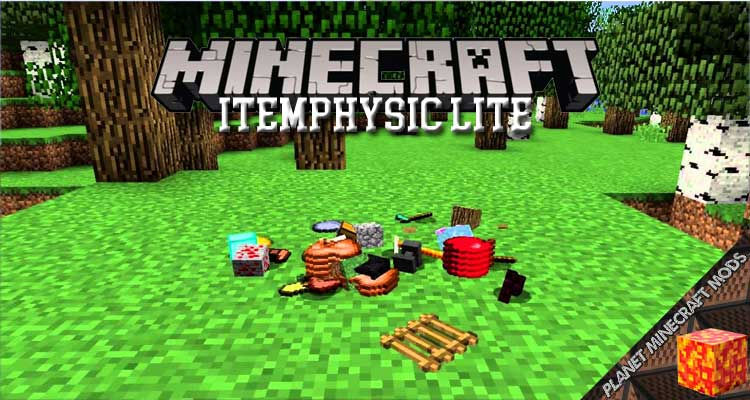 ItemPhysic Lite Mod 1.16.5/1.12.2/1.7.10