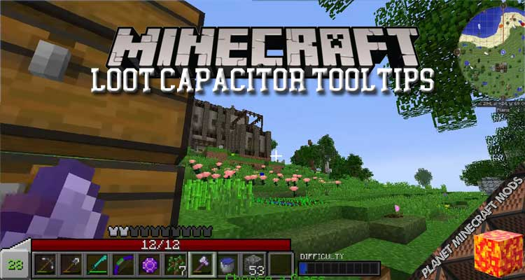 Loot Capacitor Tooltips Mod 1.12.2