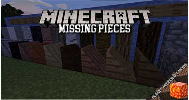 Missing Pieces Mod 1.12.2/1.10.2