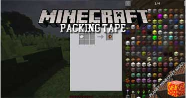 Packing Tape Mod 1.16.5/1.12.2/1.10.2