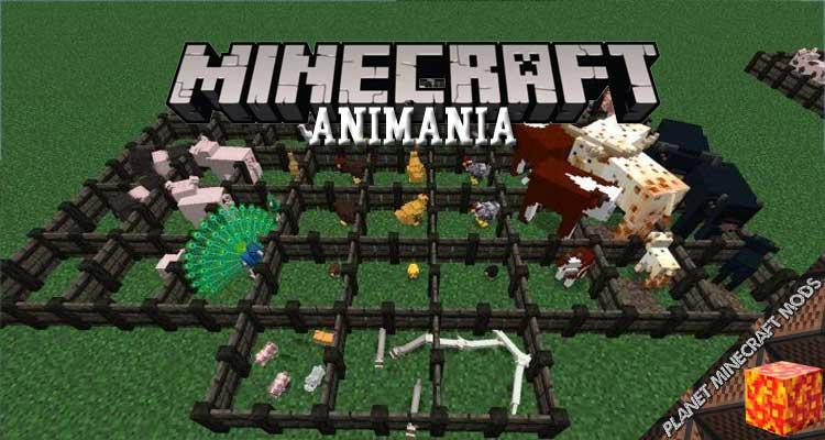 Animania Mod 1.12.2/1.11.2/1.10.2