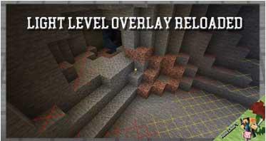 Light Level Overlay Reloaded Mod 1.14.4/1.12.2/1.7.10