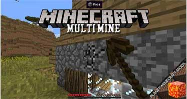 Multi Mine Mod 1.12.2/1.10.2/1.7.10