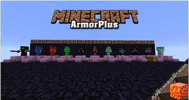 ArmorPlus Mod 1.16.5/1.12.2/1.10.2