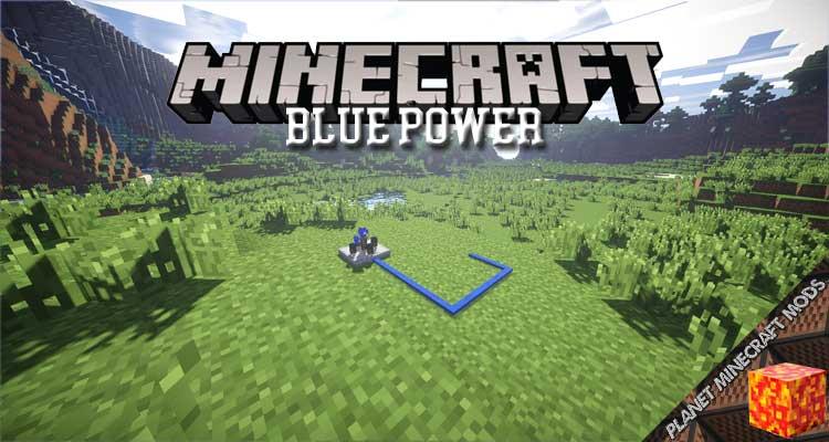 Blue Power Mod 1.16.5/1.12.2/1.7.10