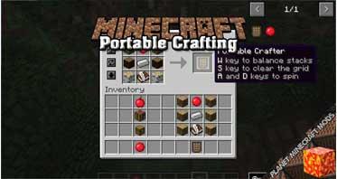 Portable Crafting Mod 1.12.2/1.10.2/1.9.4
