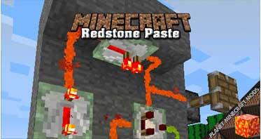 Redstone Paste Mod 1.12.2/1.10.2/1.7.10
