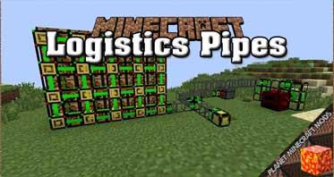 Logistics Pipes Mod 1.12.2/1.7.10