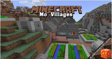 Mo' Villages Mod 1.12.2/1.10.2/1.7.10
