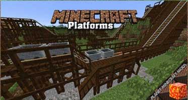Platforms Mod 1.16.5/1.12.2/1.10.2