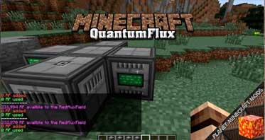 QuantumFlux Mod 1.12.2/1.10.2/1.7.10