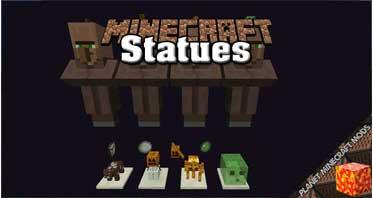 Statues Mod 1.17.1/1.12.2/1.10.2