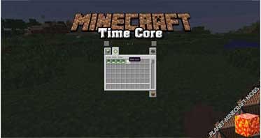 Time Core Mod 1.16.5/1.15.2/1.12.2