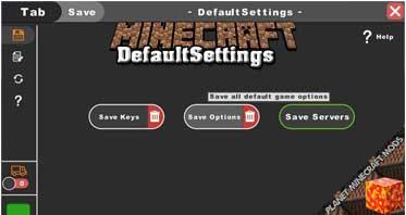 DefaultSettings Mod 1.17.1/1.12.2/1.7.10