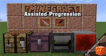 Assisted Progression Mod 1.14.4/1.12.2/1.10.2