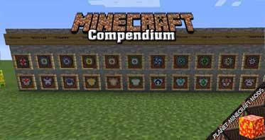 Compendium Mod 1.12.2/1.10.2/1.7.10