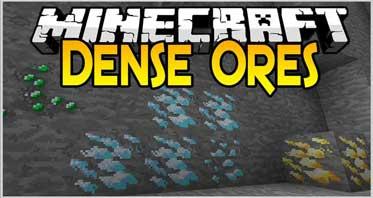 Dense Ores Mod 1.11.2/1.10.2/1.7.10