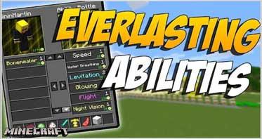 EverlastingAbilities Mod 1.16.5/1.12.2/1.10.2