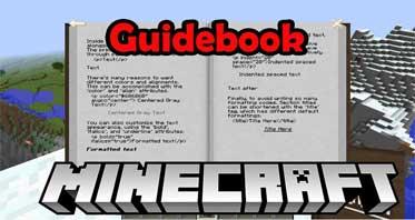 Guidebook Mod 1.17.1/1.12.2/1.10.2