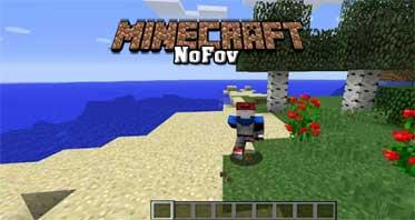 NoFov Mod 1.12.2/1.11.2/1.10.2