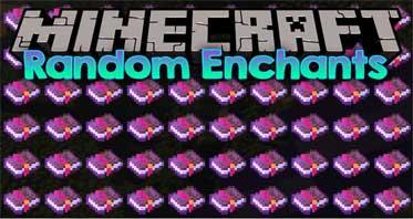 Random Enchants Mod 1.16.5/1.15.2/1.12.2